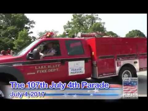 2017 Lake Bluff July 4th Parade