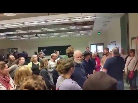 Democratic Caucus 2016, Kenai Alaska: Voting for Our Delegates Part 2