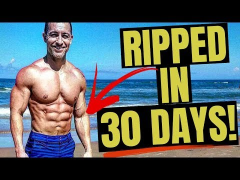 Best Workout To Get Ripped In 30 Days (Complete Routine!)
