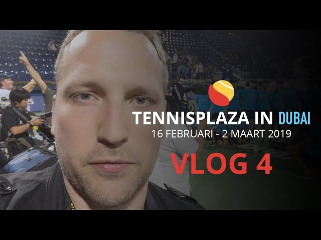 Tennisplaza in Dubai - Vlog 4: Finaledag WTA met Bencic + loting ATP met Cilic