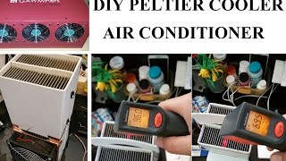 DIY Solid State AC Thermalelecric Peltier with Old Bitcoin Hardware Ver.2