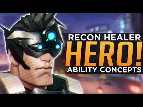 Overwatch: New Hero & Abilities Concept - Recon Healer