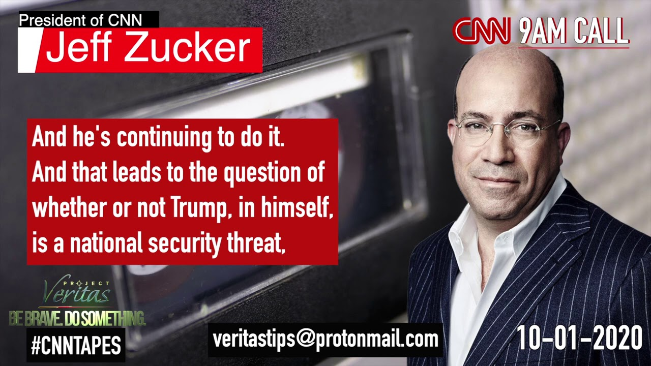 #CNNTapes: Jeff Zucker Labels Donald Trump A Bigger Threat To National Security Than Voter Fraud