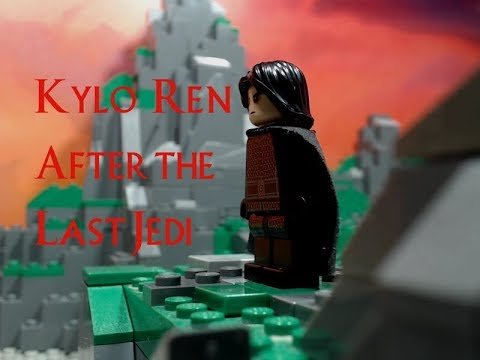 Lego Star Wars After The Last Jedi: Kylo Ren (Brickfilm Stopmotion Animation)