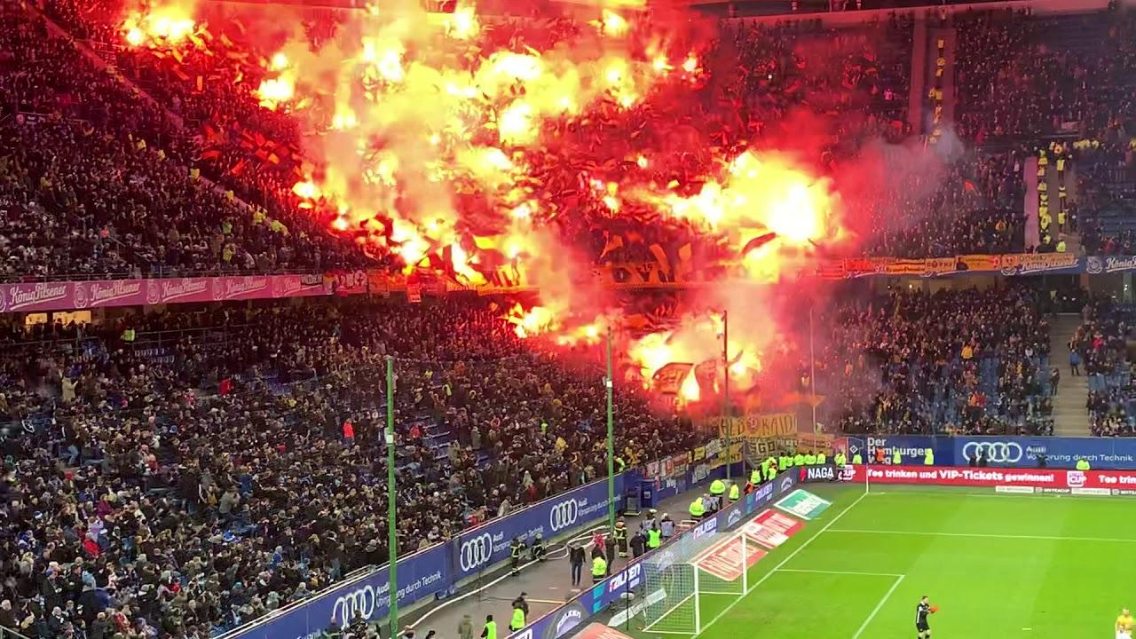 Hamburger Sv Vs Dynamo Dresden 11 02 2019 Youtube