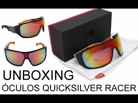 09370886842df Unboxing Oculos QuickSilver Racer - YouTube