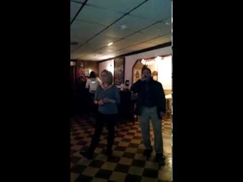 June Rose and Larry Bastanzi - Karaoke - Close My Eyes Forever/Ozzy Osbourne and Lita Ford