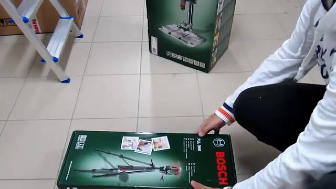 unpacking cross line laser 360 bosch pll 360 set with tripod bt150 0603663001 youtube