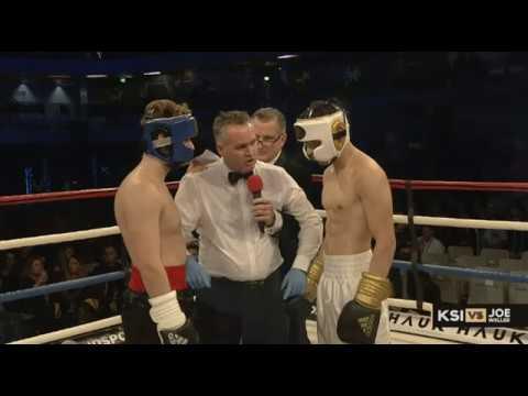 KSI VS JOE WELLER BOXING FULL FIGHT LIVESTREAM