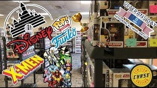 Veteran's Day & Tampa Funko Pop Hunt. Rare Grail Disney Funko Pop. X-MEN & more!