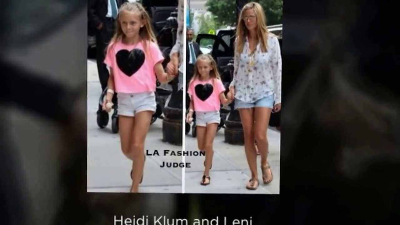 Celeb Moms And Kids Summer Fashion Style 2013 Youtube