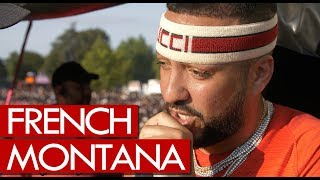 french montana shows iced ap talks morocco citizenship fresh off stage at wireless