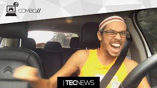 YouTuber tá BOMBANDO cantando loucamente no trânsito / Minecraft vai ganhar modo competitivo