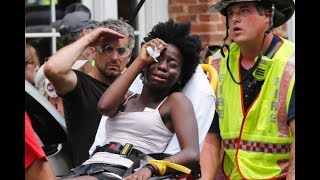 Car Crashes Into Protesters Charlottesville VA, LIVE Footage Terrorist Act