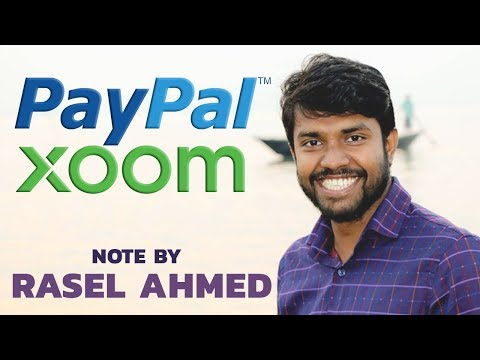 PAYPAL vs XOOM  Note by Rasel Ahmed