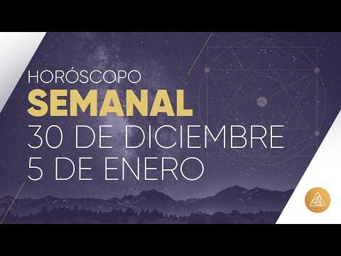 HOROSCOPO SEMANAL | 30 DE DICIEMBRE AL 5 DE ENERO | ALFONSO LEÓN | COLORES AÑO NUEVO