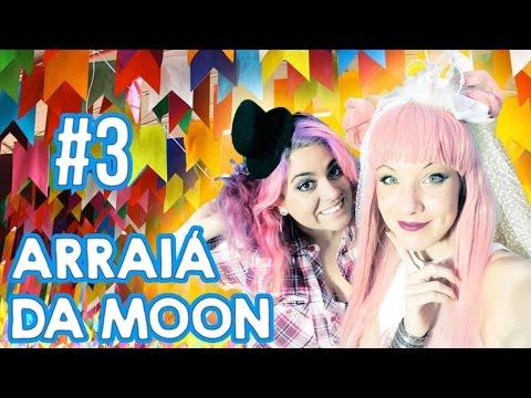 Arraial da Moon #3 - Casamento Gay, Youtubers famosos e desafio da paçoca