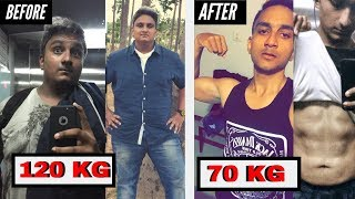 How I lost 50kgs ? | CRAZY 1 YEAR Weight Loss and Body Transformation 2019 | Fat to Fit