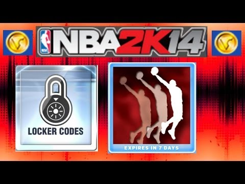 NBA 2K14 LOCKER CODES - Xbox 360 & PS3 - Code For A New Dunk Package! IM STREAMING