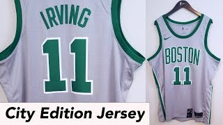"""City Edition"" Boston Celtics Nike NBA Kyrie Irving Swingman Jersey Review"