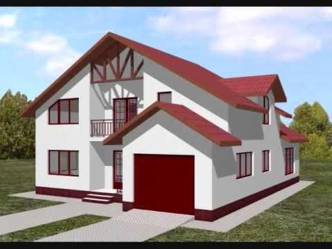 Proiect casa eleonora proiecte case cu mansarda youtube for Youtube case cu mansarda