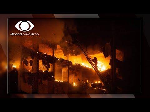 Dois bombeiros estão desaparecidos em incêndio no RS