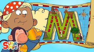 Alphabet Cartoon - ABC-Piraten haben ein Magisches Abenteuer auf ''M'' die Insel