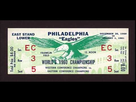 1960 Packers vs Eagles NFL Championship Game (Radio Broadcast)