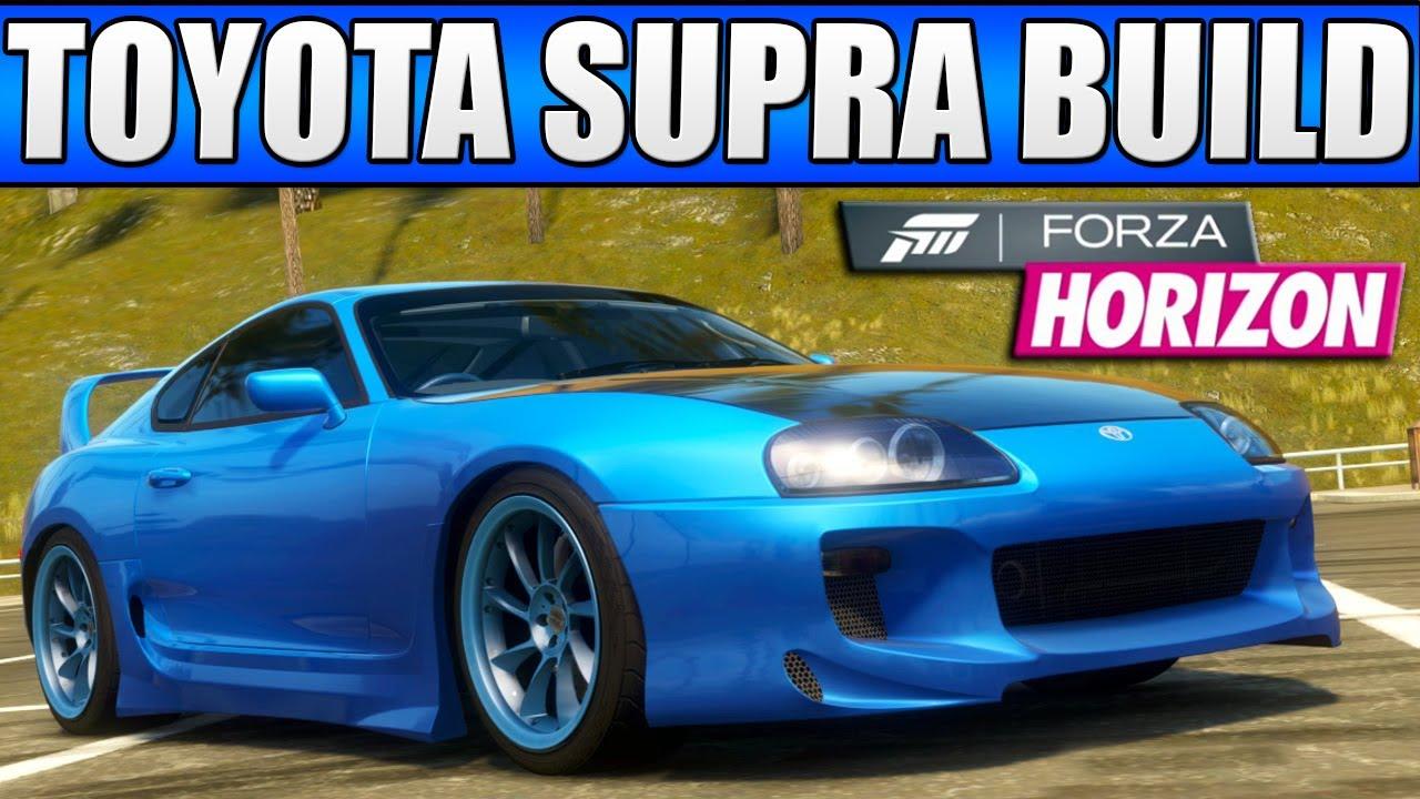 Forza Horizon Custom Cars 2 Toyota Supra 20k
