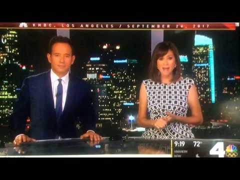KNBC NBC 4 News special breaking news cold open September 24, 2017