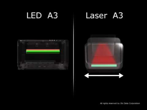 Led Vs Laser 2 Oki Youtube