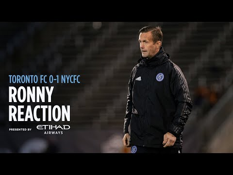 Ronny Deila Reaction   Toronto FC 0-1 NYCFC