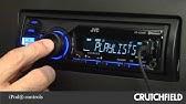 JVC KD-X320BTS Display and Controls Demo   Crutchfield Video ... on