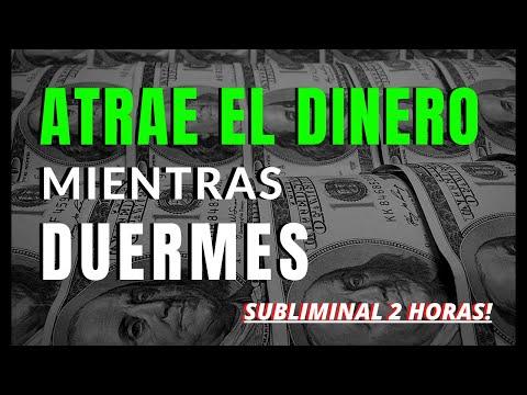 Atrae el DINERO Mientras Duermes | SUBLIMINAL Potente de 2 horas con Ondas Delta