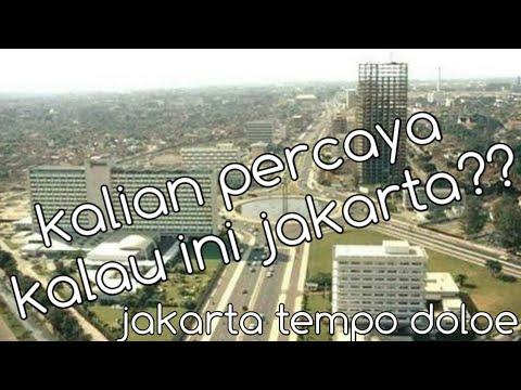 Beginilah Potret Suasana Kota Jakarta Tempo Dulu....!!!!