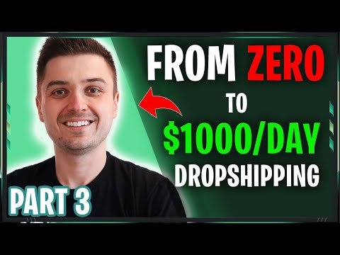 [FREE COURSE] From ZERO to $1000/DAY with Dropshipping STEP BY STEP   MASTER Facebook Ads 2019 (3/5) thumbnail