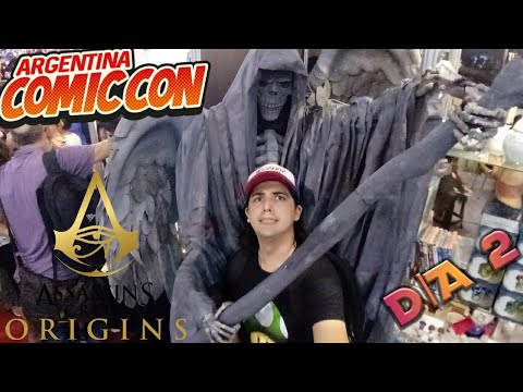 ¡COMIC-CON ARGENTINA 2017 DÍA 2! - Vlogs/Sketch