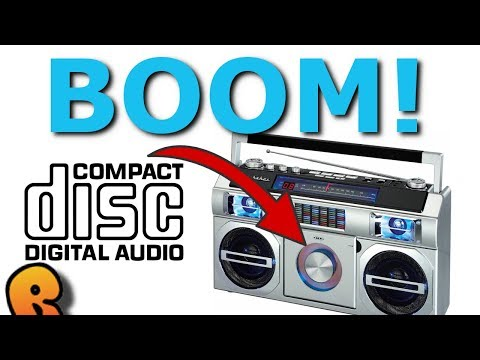 The 80's Ghetto Blaster With No Tape!