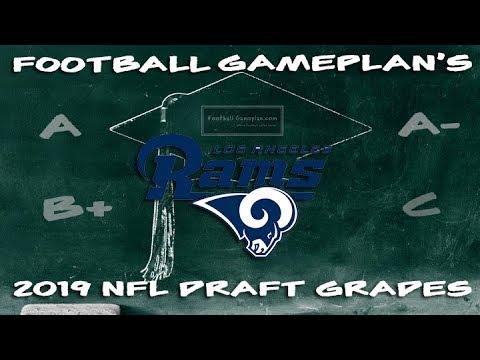 Football Gameplan's 2019 NFL Draft Grades: Los Angeles Rams