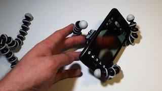 Гибкий штатив для фотоаппарата, телефона или камеры(, 2015-06-06T13:06:34.000Z)