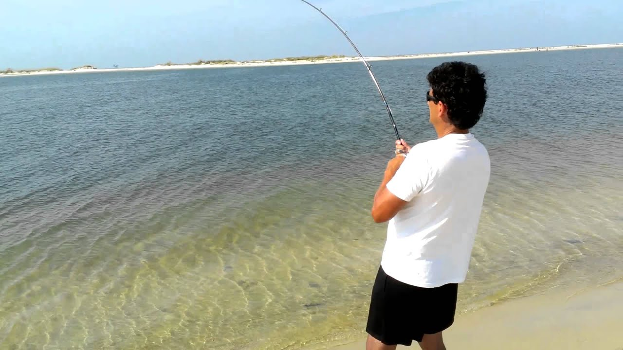Dauphin island al ed robert part 1 youtube for Dauphin island fishing pier