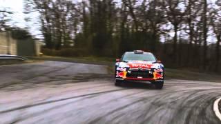 Baptême Citroën DS3 WRC Valbuena