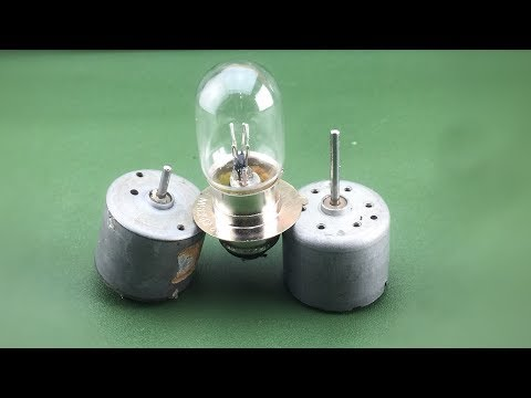 Home Made Free Energy Using Dc motor 100%  | Awesome Creative Technology For 2019