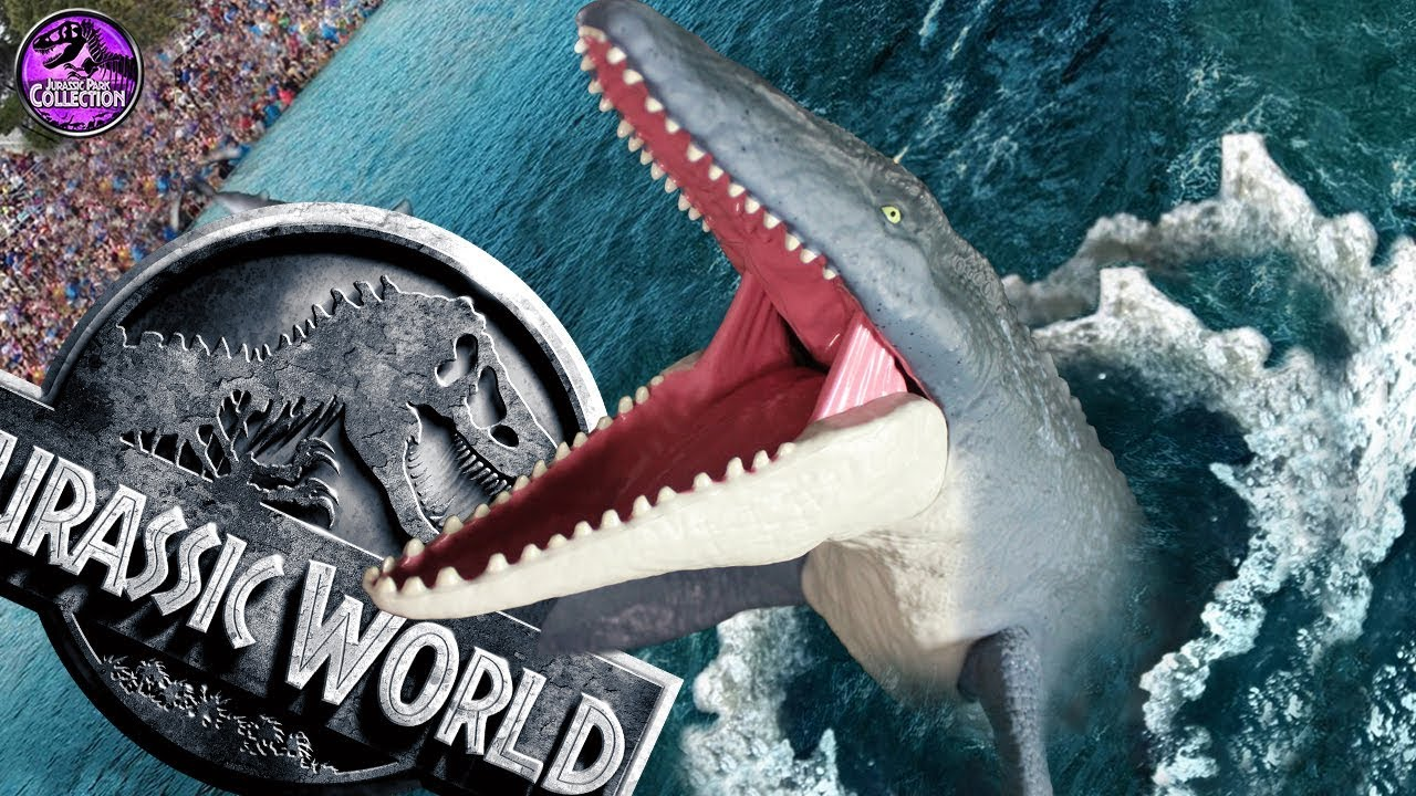 Giocattoli Jurassic World 2018 Mosasaurus Jurassic World Fallen Kingdom Mattel Toys Review