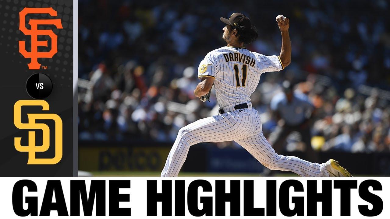 Download Giants vs. Padres Game Highlights (9/23/21) | MLB Highlights