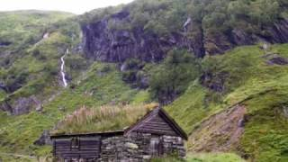 Norwegian landscape with new age piano music Resimi