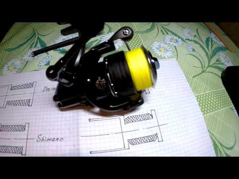 Как отрегулировать намотку шнура на шпулю видео