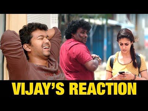 Thalapathy Vijay's Reaction on Kalyana Vayasu Song | kolamaavu kokila (CoCo) | #Vijay