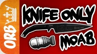 mw3 rushing knife only moab 1080p