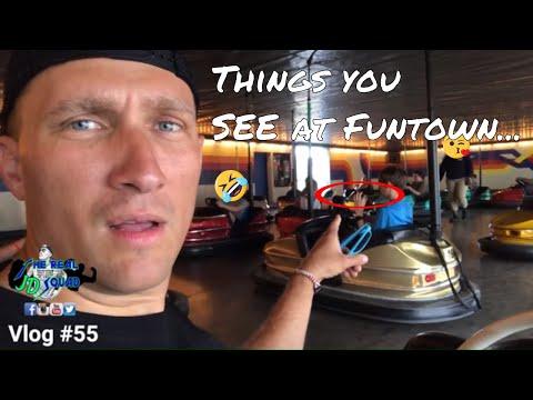 Funtown Splashtown USA / Vlog